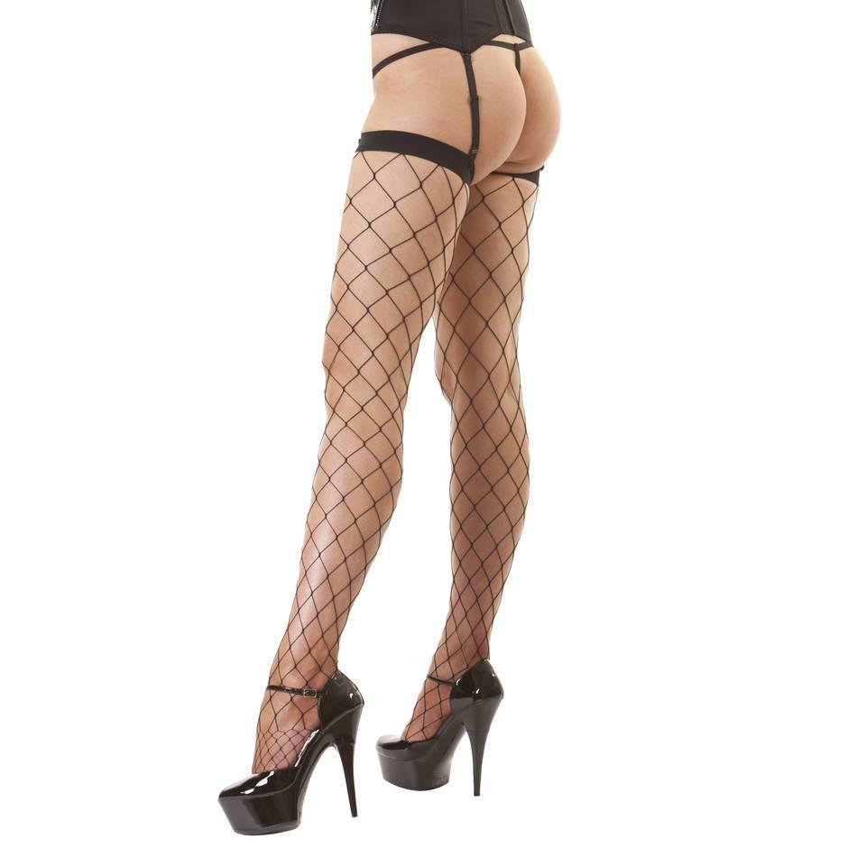 classified wide net stockings