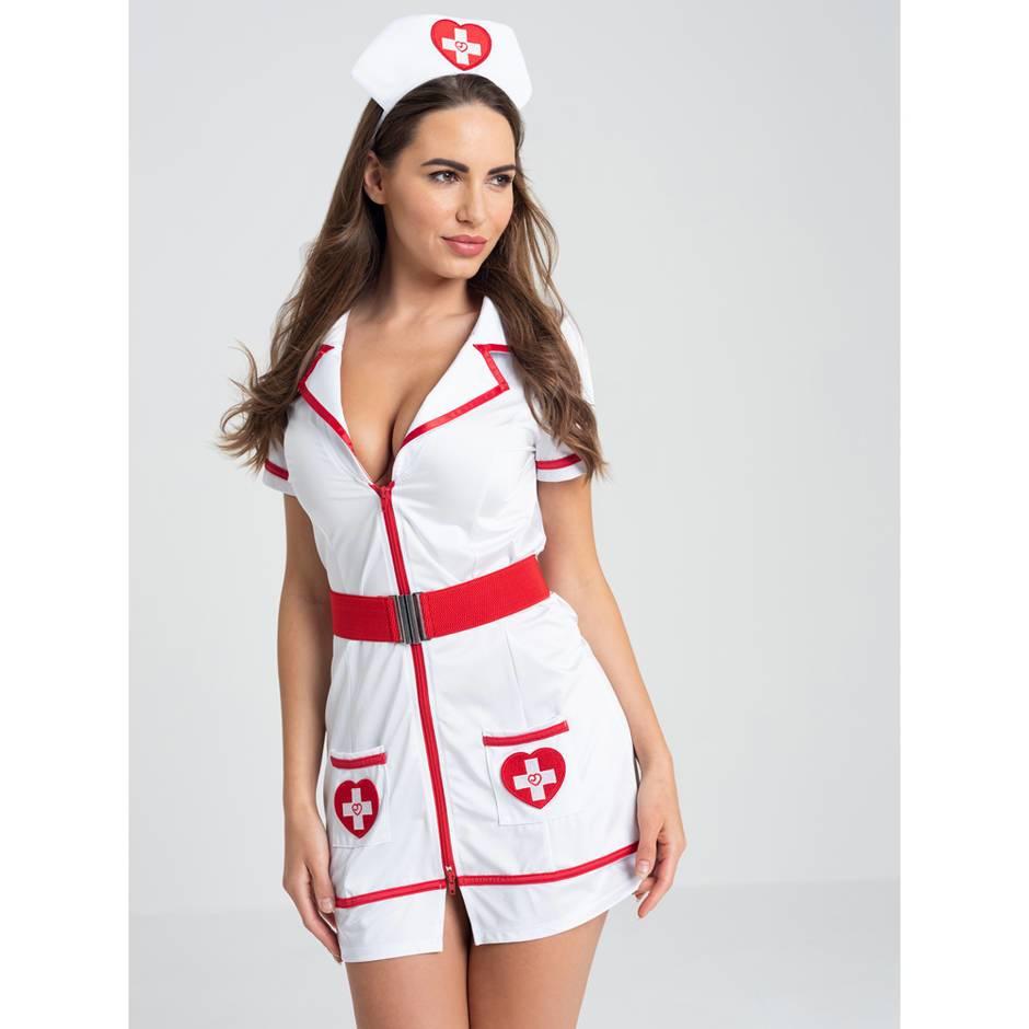 Sexy Nurse Costume Front