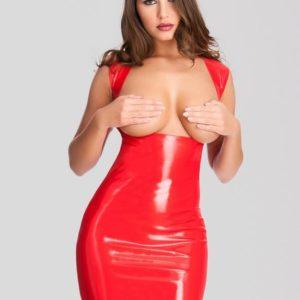 Easy-On Latex Underbust Spanking Dress