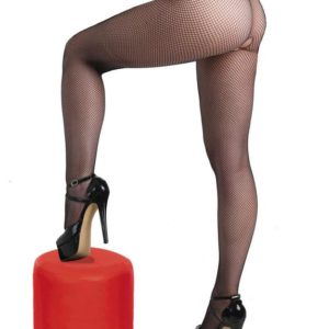 Miss Naughty Crotchless Fishnet Tights