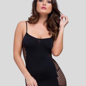 Lovehoney Hourglass Black Mini Dress