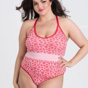Lovehoney Mindful Pink Leopard Print Seamless Body